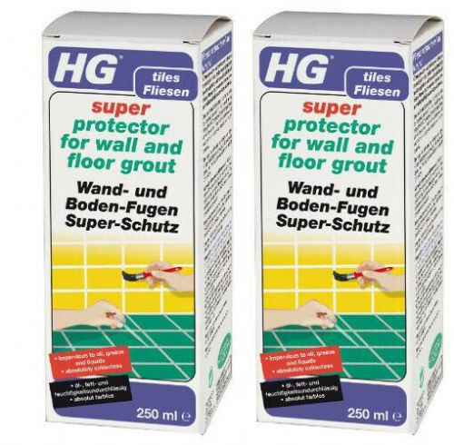 HG super protector for wall and floor grout  Pack of 2